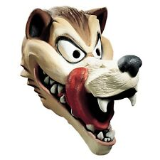 Hungry Wolf Latex Mask Big Bad Little Red Riding Hood Costume Mens Adult NEW