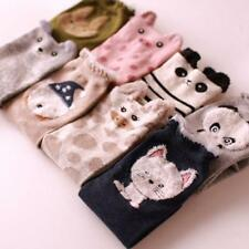 Lovely 3D Cartoon Animal Zoo Women Socks Ladies Girls Cotton Warm Soft Sox JJ