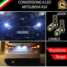 COPPIA LUCI DI POSIZIONE + COPPIA LUCI TARGA 5 LED CANBUS MITSUBISHI ASX