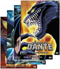Demon Lord Dante Volume 1 2 3 4 DVD New Sealed Anime
