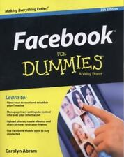 Facebook For Dummies, Abram, Carolyn, Good Book