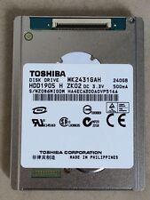 """1.8""""Toshiba MK2431GAH 240GB 4200RPM For iPod VIDEO 5TH/MacBook Air/HDR-XR550E"""