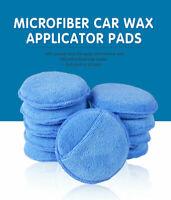 """10PCS 5"""" Car Waxing Polish Foam Sponge Wax Applicator Cleaning Detailing Pads"""