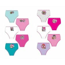 LOL SURPRISE Character  Pants//Briefs 4-10 Years,100/% Cotton 3 Pairs,Official