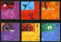 GUERNSEY 2001 GUERNSEY POST OFFICE SET OF ALL 6 COMMEMORATIVE STAMPS MNH (s)