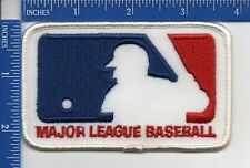 "Authentic MLB- Major League Baseball Logo patch NOS 4"" X 2 3/8"""