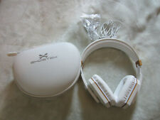 GHOSTEK SoDrop 2 Bluetooth Wireless Headphone with pouch and wires (White/gold)