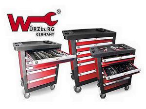 XXL Werkstattwagen inkl. Werkzeug Werkzeugkiste Werkzeugwagen Werkzeugschrank