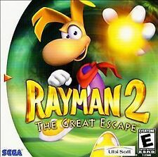 Rayman 2: The Great Escape Sega Dreamcast Fast Free Shipping!