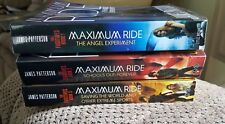 James Patterson Set Of 3 Maximum Ride Books.