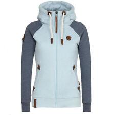 Womens Trench Hooded Parka Overcoat Slim Warm Long Jacket Winter Coat Outwear