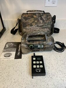 FOXPRO Model FX3 With Remote; Camouflage 32 Sounds Digital Game Caller - TESTED