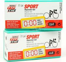 2-Pack Rema TT04 Bike Patch Sport Repair Kit Flat/Puncture/Emergency Road/MTB