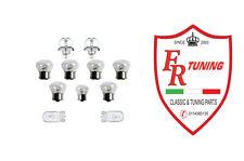 KIT 11 LAMPADINE FIAT 500 F/L/R/GIARD