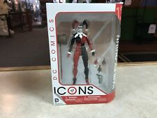 "2016 DC Direct ICONS HARLEY QUINN 6"" Inch Action Figure MOC"
