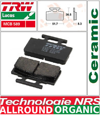 Jeu 2 Plaquettes Frein Avant TRW MCB589 SYM 50 Mio 05-> / 50 Pure (F5B-2) 95->