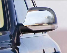 Chrome Wing Mirror Trim Set Covers To Fit Volkswagen Touareg (2007-10)