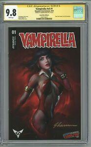 Vampirella #1 CGC 9.8 SS Comic Mint Edition A Shannon Maer Variant NYCC 2019