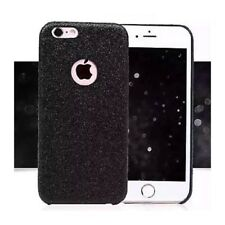 Coque Silicone Semi Rigide Brillant Strass Bling Bling Noir Black Iphone 7