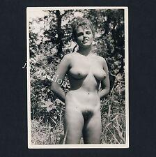Nudism NUDE WOMAN OUTDOOR / NACKTE FRAU IM FREIEN FKK * Vintage 60s Photo