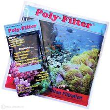 Aquarium Poly Bio Marine Filter Media Pad Phosphate Ammonia Organics Remover
