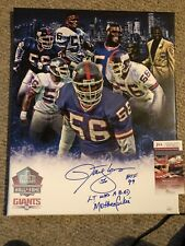 Lawrence taylor Signed 16x20 Custom Canvas JSA Authenticated