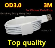 3M Fast Charge USB Lead Cable For Apple iPhone 5 5C SE 6 7 8 Plus iPhone X,iPad