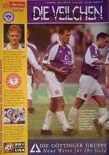 Programm 1999/00 Tennis Borussia Berlin - Fortuna Köln