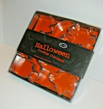 Halloween Cookie Cutters ~ 10 All Different ~ Stainless Steel~ Smith Doyle ~ Nos