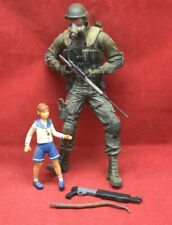 Resident Evil 2 Game Biohazard Hunk & Sherry accessories Lot Action Figure 5486