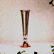 Rose Gold Conic Vase 40cm
