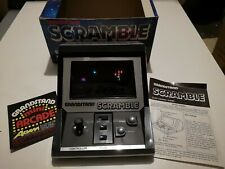 Vintage Boxed 1982 Grandstand Scramble Electronic Arcade Game Working with Box