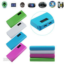 PORTABLE USB POWER BANK 5V 2A USB 18650 Battery Box Charger For iphone 6 Note 4