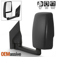 Fits 2003-2017 Chevy Express / GMC Savana Left Driver One Side Towing Mirror