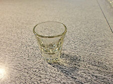 "Vintage Glass Shot Glass Shotglass 2-1/4"" Tall                     AC"
