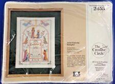 Creative Circle 2453 Christmas Nativity Angels Cross Stitch Kit Child Is Born US