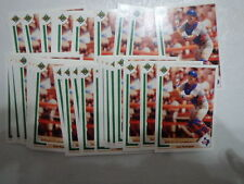 "Lot of 39 - 1991 Upper Deck Final Edition #55F Ivan ""Pudge"" Rodriguez"