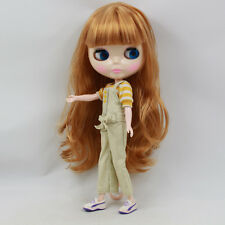 """Takara 12"""" Neo Blythe Golden Hair Nude Doll from Factory Tby69"""