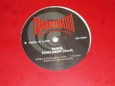 "TAIKO - Echo drop - UK 2-track 12"" Vinyl single"