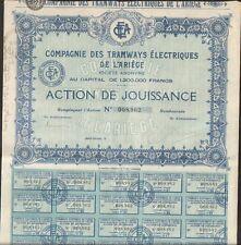 TRAMWAYS ÉLECTRIQUES de l'ARIEGE (09) (Q)