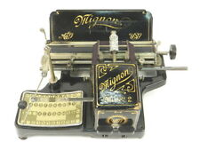 Nice MIGNON Nº2 typewriter schreibmaschine machine a ecrire maquina de escribir