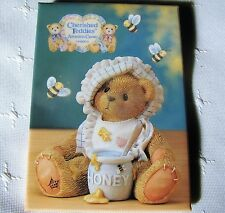 Cherished Teddies ADOPTION CENTER by Enesco COLLECTORS Pin / Pinback Button