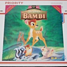 Disney Bambi Laserdisc Movie LIMITED EDITION