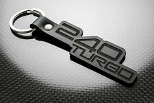 Volvo 240 TURBO Leather Keyring Keychain Schlüsselring Porte-clés GLT Estate GLE