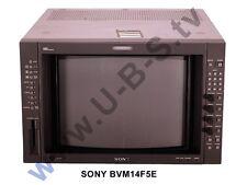 """Sony bvm-14f5e - 14"""" Class A MONITOR CON SDI"""