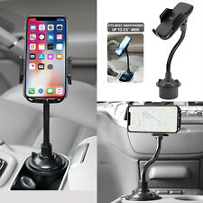 Cup Holder Car Mount Flexible / Universal For Cell Phone iPhone X Xr Max Cradle