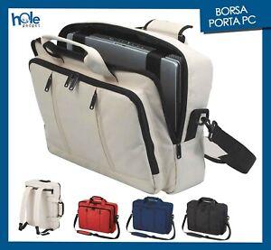 Borsa per PC Portatile Zaino Porta Computer Documenti Custodia Laptop Notebook