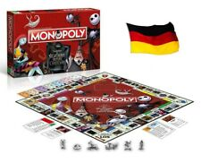 HASBRO - WINNING MOVES - MONOPOLY NIGHTMARE BEFORE CHRISTMAS - DEUTSCH - NEU/OVP