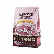 Lily's Kitchen Puppy Free Run Chicken & Salmon Dry Food (1 kg) - Pack of 6