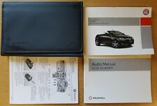 GENUINE VAUXHALL TIGRA OWNERS MANUAL HANDBOOK WALLET 2004-2009 PACK D-205
